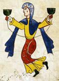 Medieval jongleuresse