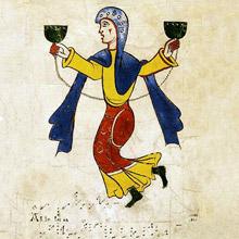 Manuscript medieval music
