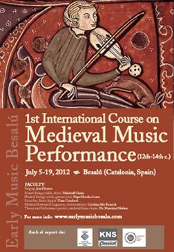 Early Music Besalú 2012