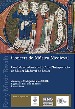 Early Music Besalú Choral Concert 2012