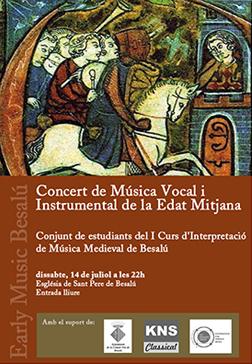 Early Music Besalú Student Concert 2012