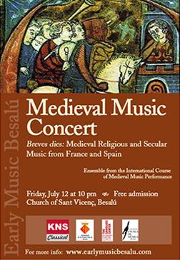 Early Music Besalú Concert 2013