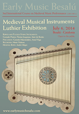 Early Music Besalú Luthier Exhibition 2014