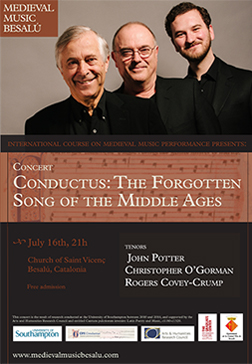 Medieval Music Concert Conductus: The Forgotten Song of the Middle Ages